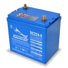 BAFRDC224-6 Fullriver Full Force AGM Deep Cycle Batteries 224AH/6V Quantity 1