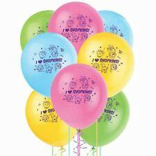 8X  12'' Birthday Latex Party Balloons in Shopkins Style