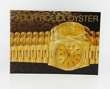 Your Rolex Oyster Booklet Manual 2000 English