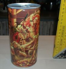 Russian *Faxe* empty bottom opened beer can. Limited edition Part IV.