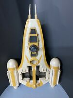 Star Wars The Clone Wars Rebel Y-Wing Bomber Incomplete Hasbro 2009