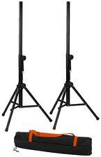 IMG Stage Line PAST-125/SET Lautsprecherboxen-Stativ-Set schwarz Boxenstative