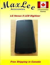 LG Nexus 5 D820 LCD Screen and Digitizer Assembly with Front Housing - Black
