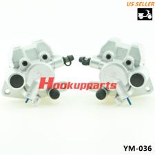 Front Brake Caliper for SUZUKI LTF250 LTF400 LTA400 LTA500 LTZ250 LTZ400 w/Pads