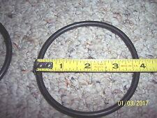"10pcs Black rubber ring O-ring seal as568-340 Spec.85.09x5.34mm 3 1/2"" pinball"