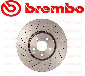 Brembo Front Brake Rotor Mercedes-Benz 4Matic E350,E500,S430,S500