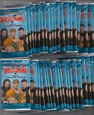 36x - 2016 Topps WWE Wrestlemania Wrestling Lot of 36 packs - NO HITS