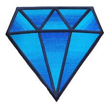 Patche dorsal écusson dos grande taille DIAMANT patch diamant brodé