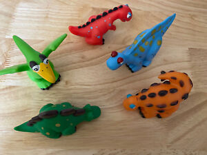 Childrens Plastic Toy Dinosaurs X 5