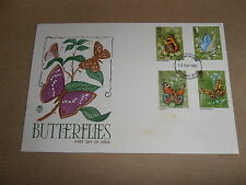 First Day Covers - Butterflies 1981