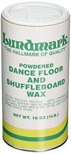 NEW Lundmark 3224P001 Powdered Dance Floor and Shuffleboard Wax FREE SHIPPING