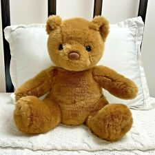 "Vintage 90s Build a Bear Classic Brown Teddy Bear Plush Stuffed Animal 10"" Cute"
