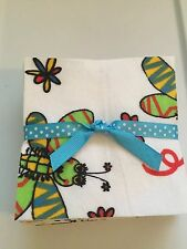 36 - 4 Inch Bugs Fireflies Cotton Flannel Quilt Squares fabric Charms