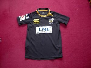 Canterbury London Wasps Rugby Union shirt/Top/jersey/child 12 years