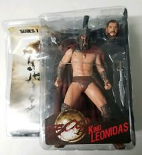"NECA - 300 Movie - Series 1 - King Leonidas Action Figure 7"" Reel Toys"