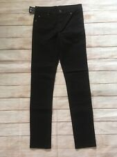 NWT Cheap Monday Tight Black Jeans Size 28x32 Unisex Very Stretch Black