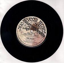 """IVOR BIGGUN<>BRAS ON 45<>DEAD BADGER RECORDS<>7"""" VINYL SINGLE  ~"""