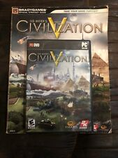 Civilization V Game + Guide (PC, 2010)