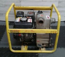 "Wacker Neuson PT2 Centrifugal Water Pump 2"" Trash Gas Powered Well Sump Pumps"