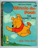Walt Disney's WINNIE the POOH The HONEY TREE Little Golden Book! 1965 A Edition!