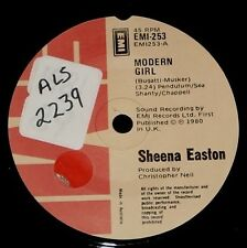 "SHEENA EASTON "" MODERN GIRL  "" 1980   POP 45 ON EMI"