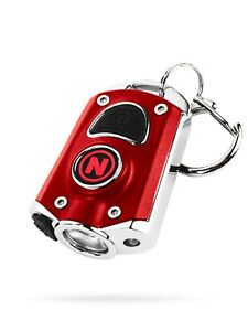 NEW Nebo Mycro C.O.B LED 400 Lumen Rechargeable Keyring Torch in RED (UK)   BNIB