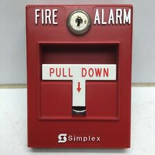 Simplex 2099- Single Action Fire Alarm Pull Station