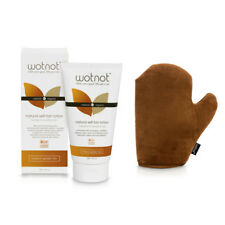 WOTNOT Natural Self Tanning Lotion 150ml PLUS Tanning Application Mitt