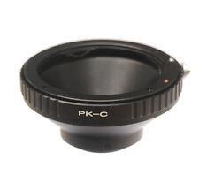 Pentax PK lens to C Mount Film Movie Bolex Video Camera CCTV Adapter Ring