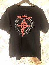 Fullmetal Alchemist Adult Unisex Graphic T-shirt Size L Anime