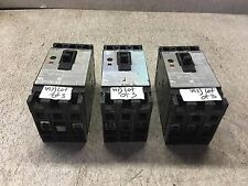 SIEMENS ITE MOTOR CIRCUIT INTERRUPTOR, 40 AMPS, ED63A040, LOT OF 3, USED