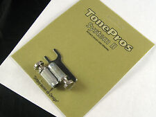 Tone Pros System II  VNS1 Locking US Tailpiece Steel Studs Nickel VNS1/NKL