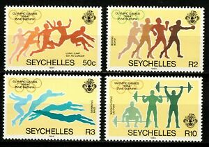 Seychelles stamps 1984 Set MNH Olympic Games Los Angeles