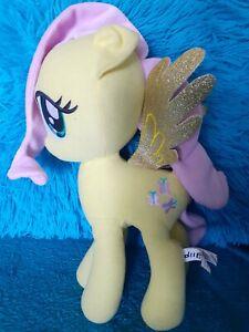 """My Little Pony Plush Fluttershy Yellow Glitter Wings Doll  11"""" cute.💛"""