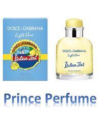 D&G DOLCE E GABBANA LIGHT BLUE ITALIAN ZESTE POUR HOMME EDT NATURAL SPRAY - 75ml
