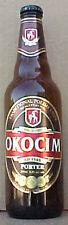 OKOCIM PORTER empty 500ml Beer BOTTLE with STANDING GOAT, POLAND