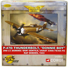 Corgi Flying Mule US33820 P-47 Thunderbolt Donnie Boy Dominic Gentile - 635/750