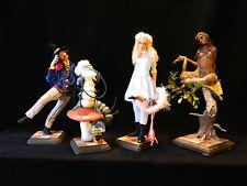 Mark Dennis Alice In Wonderland Ooak (Set 5 Pieces) + Artist Book
