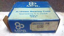 NIB MPB Andrews Bearing Corp Bearing         EW1-1//2
