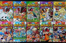 JAPAN Tenya Yabuno manga: Inazuma Eleven vol.1~10 Complete set