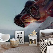 144x100inch Wall mural photo wallpaper McQueen Disney Cars giant decor +adhesive