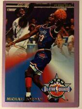 MICHAEL JORDAN 93-94 FLEER ALL-STAR WEEKEND 5 of 24, Rare Insert, Sharp Card!