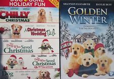 DOG GONE HOLIDAY FUN-Dog Who Saved Christmas 1-2-3+Wedding Tail+Chilly-NEW 6 DVD