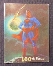 1973 Rocket's Blast ComiCollector RBCC #100 FANZINE Zine FVF 7.0 Superman Cover