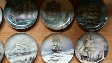 Franklin Mint The Great Clipper Ships Plate Collection