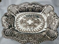 GORGEOUS English Victorian Antique Silver Plate Basket Circa 1880/90