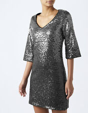 New Monsoon Obelia Sequin Dress sz 16 Wedding/Party/Coast 1