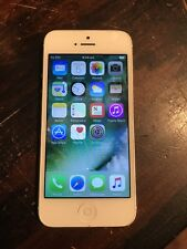 Apple iPhone 5 - 16GB - White & Silver (Unlocked) A1429 (GSM) (AU Stock)