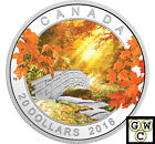 2016 'Autumn Tranquillity' Color Proof $20 Silver Coin 1oz .9999 Fine(NT)(17841)
