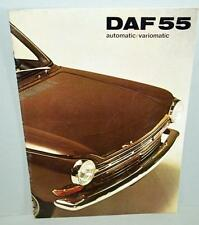 Old Car Sales Brochure For The Daf 55 Automatic / Variomatic .
